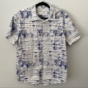Calvin Klein Short Sleeve Button Up